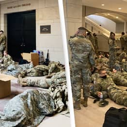 US Military Guard Capitol As Trump Impeachment Hearing Takes Place