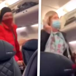 Passengers Cheer As Woman Who Broke Into Capitol Is Removed From Plane