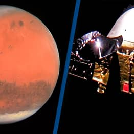 Chinese Spaceship Arrives At Mars To Search For Alien Life