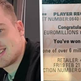 Scottish Guy Misses Out On £156 Million Lottery Win By One Number To Win £666 Instead