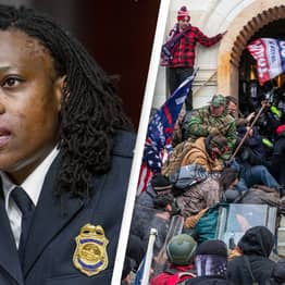 Capitol Police Captain Suffered Chemical Burns On Her Face During Riots