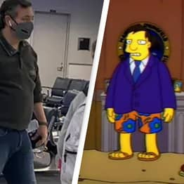 People Think The Simpsons Predicted Ted Cruz's Mexico Trip Nearly 30 Years Ago