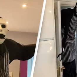 Creepy Monster Chef Making Food Is Our New Favourite TikToker
