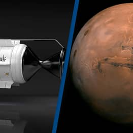 Rocket Powered By Special Nuclear Fuel Could Get Us To Mars In Just Three Months