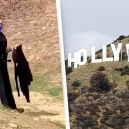 Influencer Arrested After Changing Hollywood Sign To Protest Instagram Nudity Ban