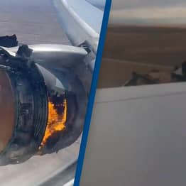 Relieved Passengers Cheer As Pilot Safely Lands Plane After Engine Explosion
