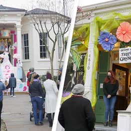 New Orleans Residents Turn Houses Into Mardi Gras Floats After COVID Cancellation