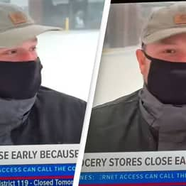 American Man 'Risks His Life' Going Out To Get Corndogs For Wife In Huge Snowstorm
