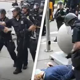 75-Year-Old Protester Shoved To Ground By Cops Sues City And Police