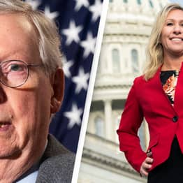 Mitch McConnell Says Marjorie Taylor Green's Views A 'Cancer' On Republican Party