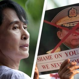 Detained Suu Kyi Urges Myanmar To Protest 'Dictatorship' As Military Launches Coup