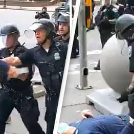 Cops Who Shoved 75-Year-Old Protester To Ground Have Assault Charges Dismissed