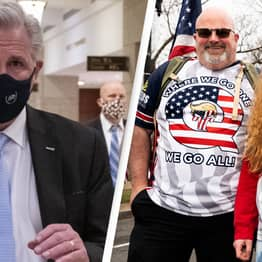 Republican House Leader Kevin McCarthy Pretends He Doesn't Know What QAnon Is