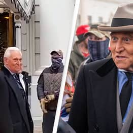 Video Surfaces Showing Trump Ally Roger Stone With Oath Keepers On Day Of Capitol Riots