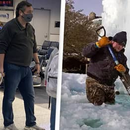 Ted Cruz Slammed For Fleeing To Cancun While Texas Freezes In Fatal Cold Snap