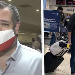 Ted Cruz Told Texans To 'Just Stay Home' Two Days Before Flying To Cancun