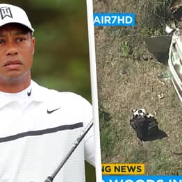 Tiger Woods Suffers 'Multiple Open Fractures' In Near-Fatal Car Crash