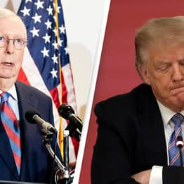 Trump Slams Republican Leader Mitch McConnell Calling Him 'Political Hack' After Impeachment Trial