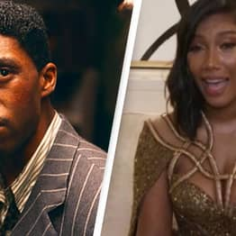 Chadwick Boseman's Wife Pays Touching Tribute To Late Husband While Accepting His Golden Globe
