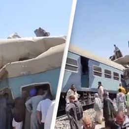 At Least 32 People Dead And 66 Injured After Two Trains Crash In Egypt
