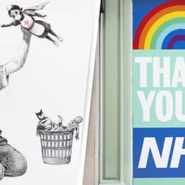 Banksy Painting Raises More Than £16 Million For NHS Charities