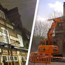 Developers Who Illegally Demolished Pub Ordered To Rebuild It Brick By Brick