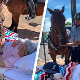 First Female Mounted Police Officer In The UK Granted Dying Wish