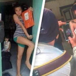 People In The Philippines Turn Proof Of Delivery Into Photoshoots