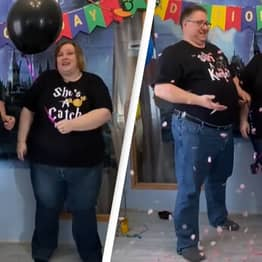 Family Does Joke Gender Reveal For Newly Adopted Daughter