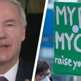Republican Arkansas Governor Asa Hutchinson Admits 'Near-Total' Abortion Ban Is Unconstitutional