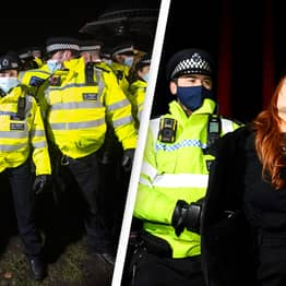 Arrest Your Own Trends In UK As Police Clash With Women At Sarah Everard Vigil