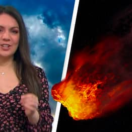 Good Morning Britain Meteorologist Laura Tobin Tells Viewers 'Not To Panic' As Asteroid Passes By Earth