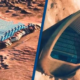 Plans For 'Capital City' On Mars Unveiled