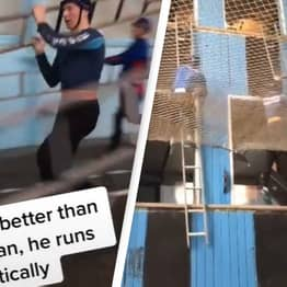 Russian Firefighter Shares His Training Regime And People Can't Believe How Intense It Is