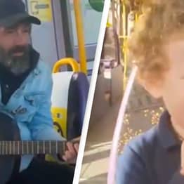 Street Performer Delights Autistic Kid With Incredible Cover Of You've Got A Friend In Me