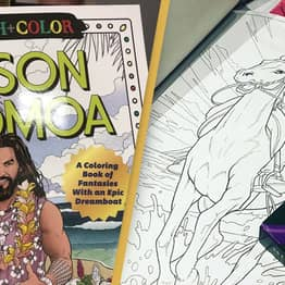 A Jason Momoa Colouring Book Exists Purely To Ease Your Stress