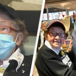 Widow Working At Pennsylvania McDonald's Has No Plans To Retire As She Celebrates 100th Birthday