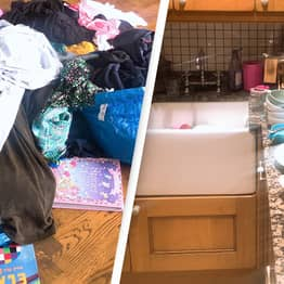 Tired Mum Goes On Cleaning Strike After Family Push Her Too Far