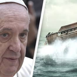 Pope Francis Warns Humanity Faces Second 'Great Flood' Caused By Climate Crisis