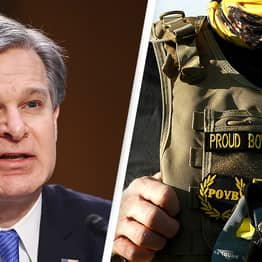 FBI Director Says White Supremacists On Par With ISIS As 'Top Threat'