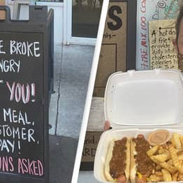 Virginia Restaurant Offering 'Broke' Customers One Free Meal A Day 'No Questions Asked'