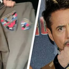 Robert Downey Jr. Gave Fan His Jacket After He Complimented Him On It