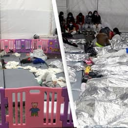 US Senators 'Stunned' By Conditions At 'Overwhelmed' Immigration Facility