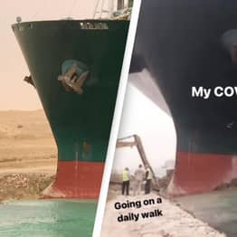 The Suez Canal Ship Drama Is Inspiring A Wave Of Memes We Can All Relate To