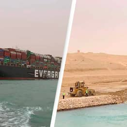 US Navy Sending Team To Dig Out Ship Blocking The Suez Canal