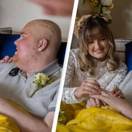 20-Year-Old With Just Days To Live Marries Girlfriend In Emotional Bedside Service