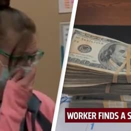 Oklahoma Charity Shop Worker Finds $42,000 In Donated Sweaters