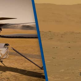 NASA Makes History By Successfully Flying First Ever Aircraft On Mars