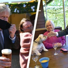 Public Outraged As Boris Johnson Photographed Breaking His Own Rules During Pub Visit