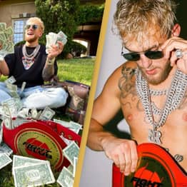 Jake Paul Poses With '$75 Million Dollars' Earned From His Ben Askren Boxing Victory